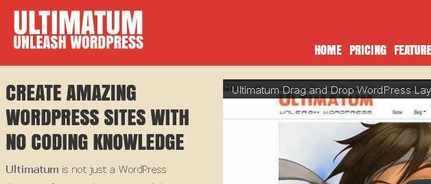 Ultimatum Framework voor WordPress