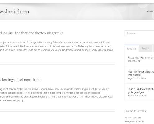 Admin-Specials website screenshot