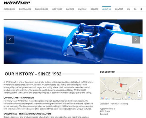 Winther bikes