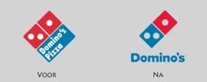 dominos pizza nieuw logo